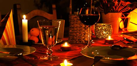 basics   perfect candle light dinner groomed home