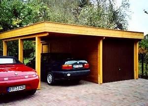 Holzgarage Mit Carport : holzgarage von omicroner bauen oder kaufen wir ~ Markanthonyermac.com Haus und Dekorationen
