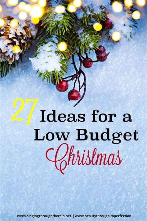28 best low budget christmas gift ideas challenge