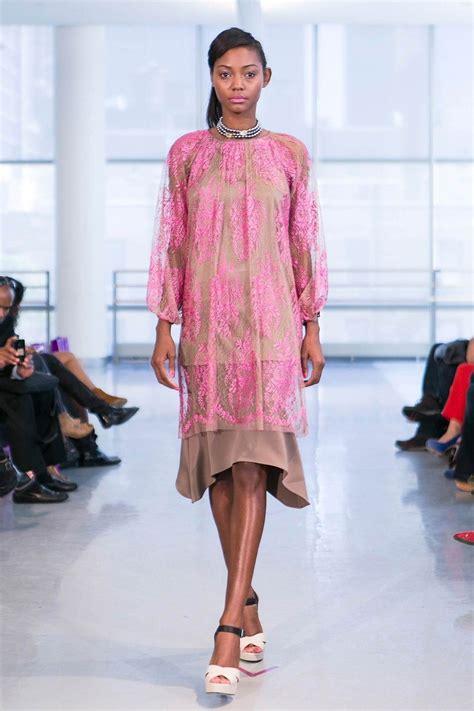Yuna Yang at New York Fashion Week Spring 2014 Fashion