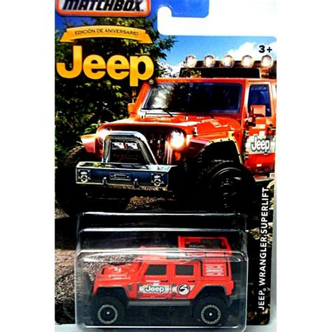 jeep matchbox matchbox jeep collection jeep wrangler superlift