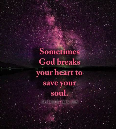 Keep this heart with you always as a reminder that i will always love you. Sometimes God breaks your heart to save your soul | Prayer ...