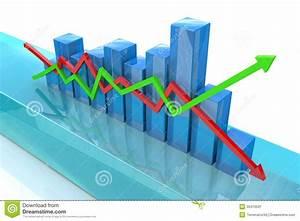 Blue Diagram Stock Illustration  Illustration Of Growth