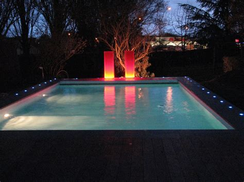 eclairage piscine r 233 alisation cef yesss electrique eclairage exterieur