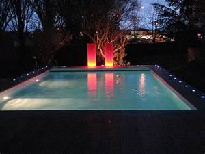 Eclairage Exterieur Piscine : eclairage piscine r alisation cef yesss electrique ~ Premium-room.com Idées de Décoration