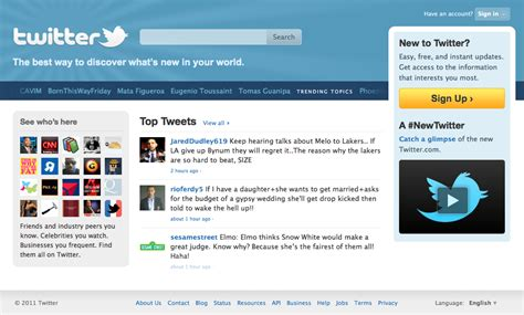 Twitter Home Screen Template by 15 Twitter Tips For Beginners Updated Tom Raftery S