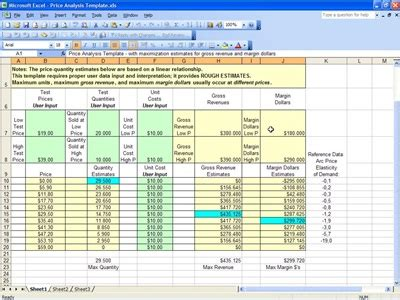 cost analysis template excel annuityf present value analysis annuity
