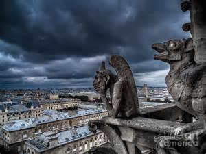 Notre Dame De Paris Gargoyles