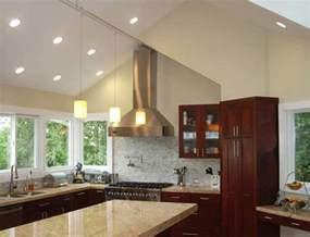 downlights for vaulted ceilings with stunning cathedral ceiling kitchen lighting downlights