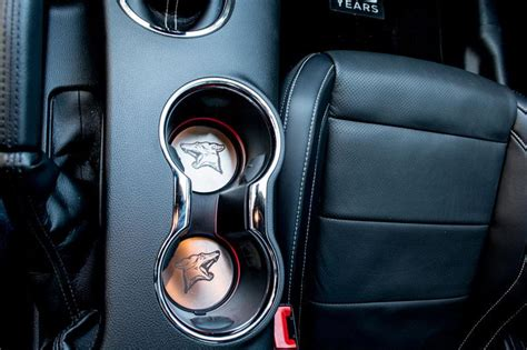 ford mustang coyote stainless steel cup holder
