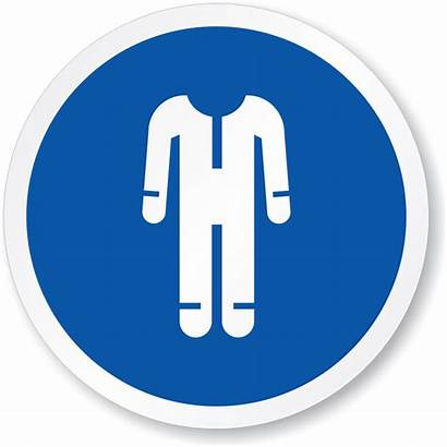 Protective Clothing Sign Wear Signs Clipart Mandatory