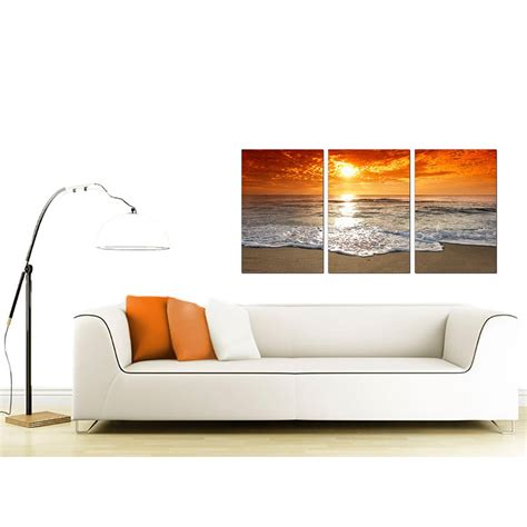 cheap living room set cheap sunset canvas prints uk set of 3 for your