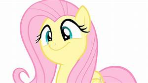 Fluttershy Sways Her Head To Music Animated Vector By