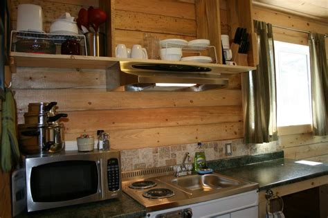 Kitchen Living Toaster Oven by Glacier View Rv Park Cabin Cottage Rentals