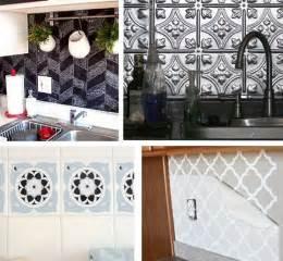 removable kitchen backsplash solutions for renters kitchens centsational