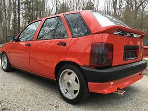 1988 Fiat Tipo 1 6 Dgt I E  Rare