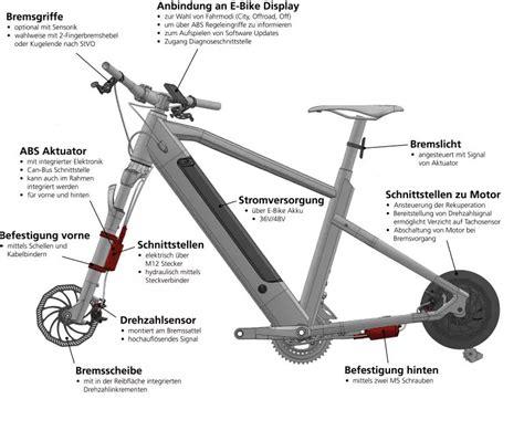 e bike mit rekuperation e bike abs brake one mit weltneuheit auf der eurobike pedelecs und e bikes