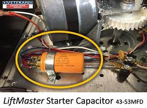 Replace The Starter Capacitor On A Garage Door Opener