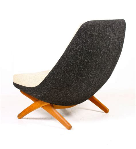easy chair and ottoman by wikkelsoe for sale at 1stdibs