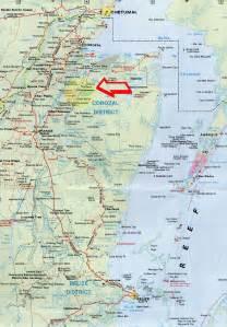 Detailed Map Belize
