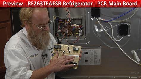 pcb main pc curcuit board rfteaesr samsung refrigerator youtube