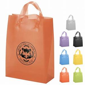 Customized Zeus Frosted Brite Shopper Gift Bag #37S1013H ...