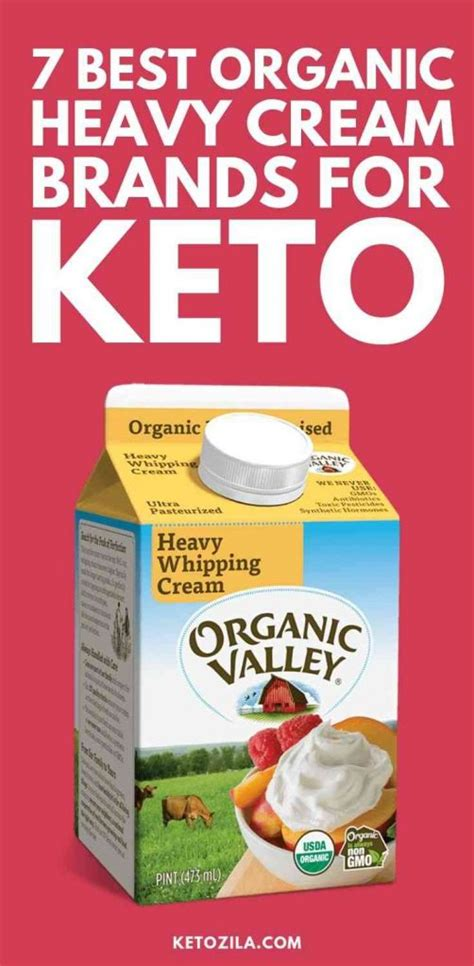 Those fats come in the form of mct oil, butter, ghee, coconut oil, nut butter one note about heavy whipping cream: 7 Best Organic Heavy Cream Brands For Keto Diet | Ketozila