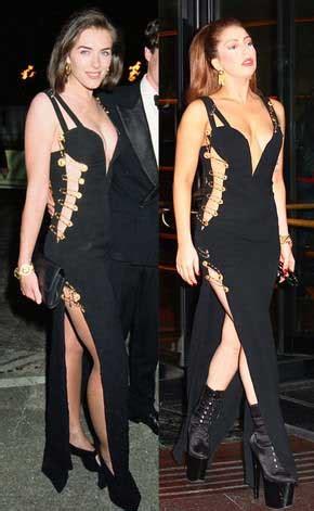 Zanan Ziba Lady Gaga Heart Versace Marienela