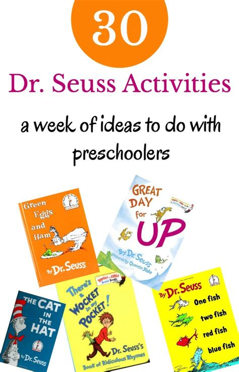 a week of dr seuss activities 871 | dr seuss activties