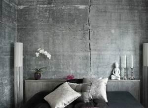 Tapete In Betonoptik : tapeten in betonoptik f r ein interieur mit industriellem touch ~ Markanthonyermac.com Haus und Dekorationen