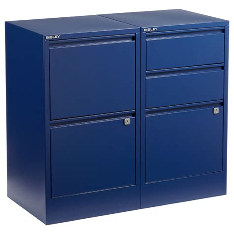 Bisley File Cabinets oxford blue bisley 174 2 3 drawer file cabinets the