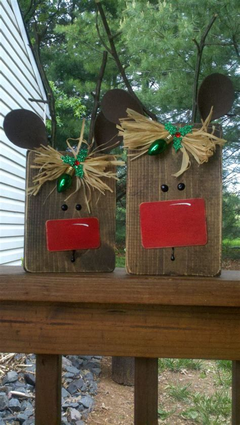 shirleys recycled scrap wood reindeer scrap pieces