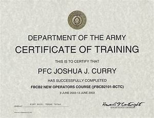army certificate of completion template 28 images army With army certificate of completion template