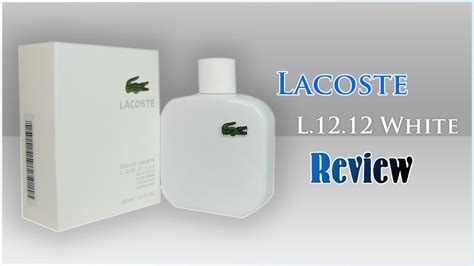 lacoste l 12 12 blanc white fragrance review