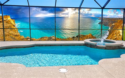privacy screen patio scences mural screens for patios in