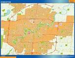 Find and enjoy our Edmonton maps | TheWallmaps.com