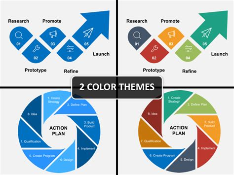 product launch powerpoint template sketchbubble