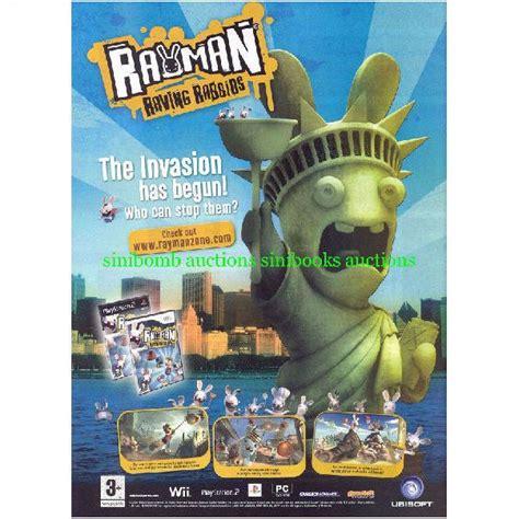 rayman raving rabbids wii ps gba playstation original