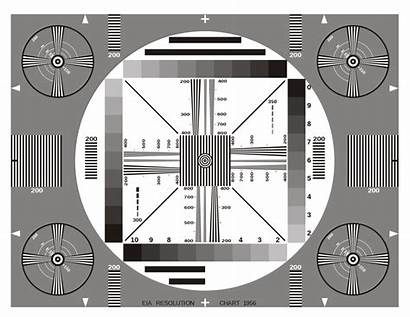 Resolution Chart Eia Svg 1956 Cameras Test
