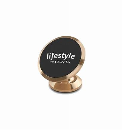 Mount Phone Gold Magnetic