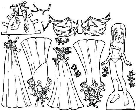 Dress Up Coloring Pages Dresses Coloring Pages Clothing Colouring Pages