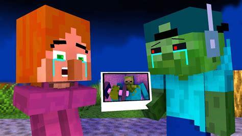 villager minecraft zombie vs craftronix animation