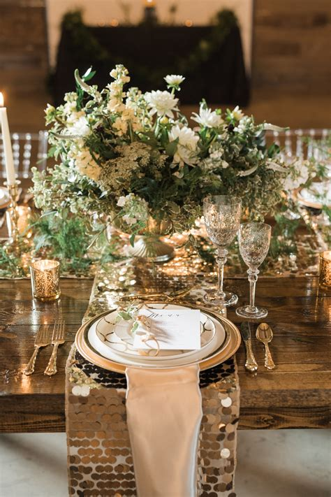 elegant glam country wedding inspiration rustic