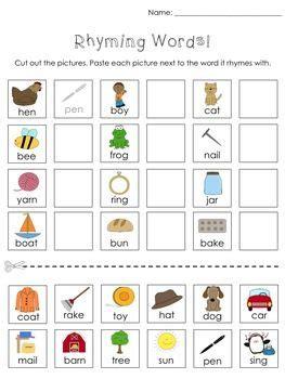 kindergarten cut and paste activities cut and paste