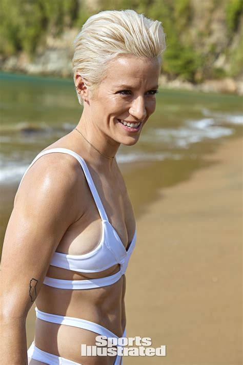 megan rapinoe sports illustrated swimsuit  celebzz