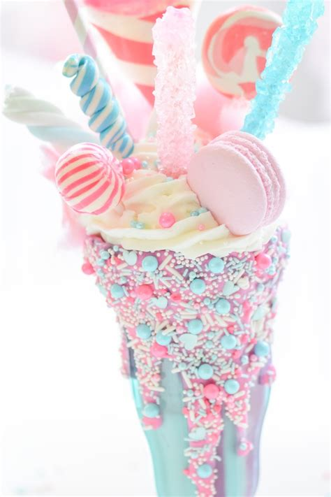 karas party ideas cotton candy freak shake karas party