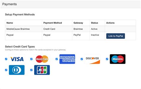 Netflix has also accepted the credit card number, so i know for a fact it's not the card. Can I choose types of credit cards to accept?   Knowledge Center