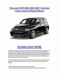 2006 Chevy Hhr Repair Manual