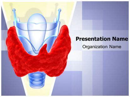 thyroid gland goiter powerpoint template background