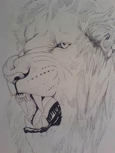 lion roar tattoo by tribalwolfie on DeviantArt